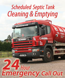 Charles Maiden Waste Disposal Herefordshire - Septic Tank Empting - 24 Hour Emergency Call Out